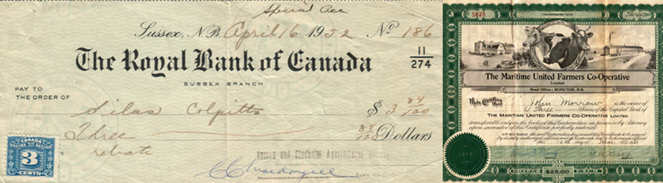 Royal Bank of Canada cheque