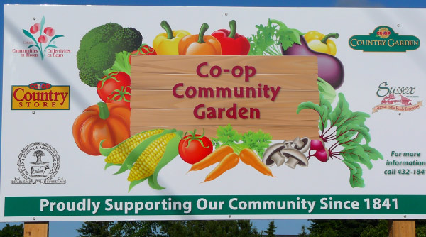Co-op community garden